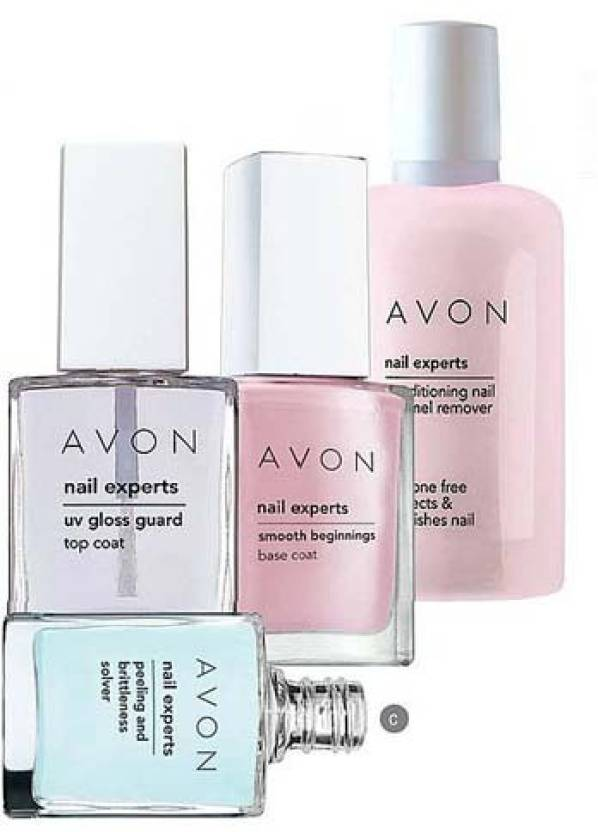Avon Nail Experts Conditioning Enamel Remover 50 Ml Peeling Brittleness Solver