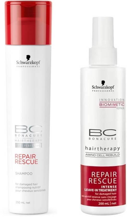 55c058d27c Schwarzkopf Repair Rescue Shampoo And Treatment Price in India - Buy ...