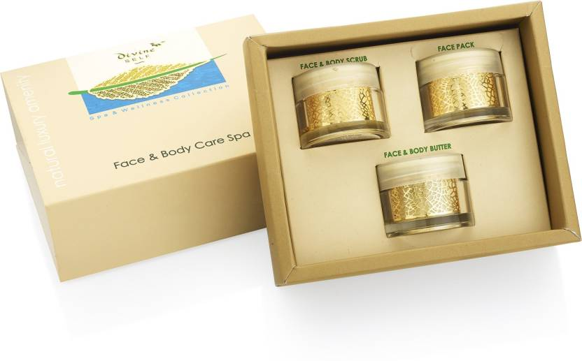 Divine Self FACE & BODY CARE SPA WITH SCRUB, PACK AND