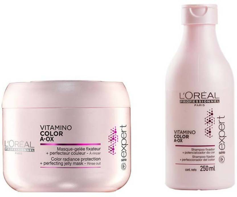 Loreal Paris Vitamino Color A Ox Radiance Protection Shampoo With