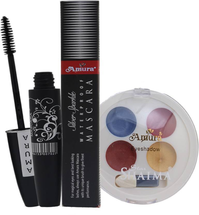 Amura Colour Cosmetics Eye Makeup Combo Price In India Buy Amura