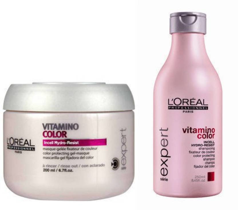 1df571ec1 L'Oreal Paris Professionnel Serie Vitamino Color Shampoo & Masque (Set of 2)