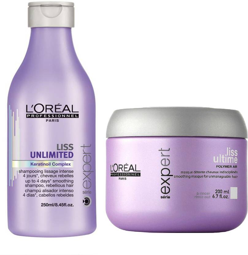 l oreal paris professionnel liss shampoo and conditioner price in