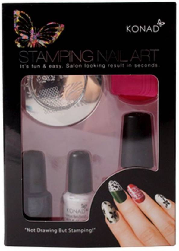 Konad Stamping Nail Art Kit Set T Price In India Buy Konad