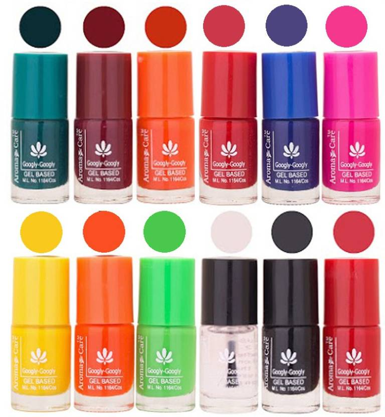 Aroma Care Red Nail Paint Combo 1106201638 Green, Brown, Orange ...