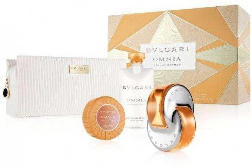 Bvlgari Omnia Indian Garnet Gift Set For Women Price In India Buy