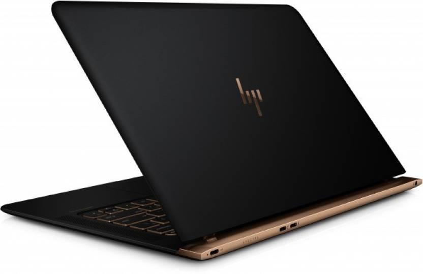 HP Spectre Core i7 6th Gen - (8 GB/512 GB SSD/Windows 10 Home) 13-v010TU Thin and Light Laptop(13.3 inch, Black, 1.11 kg)