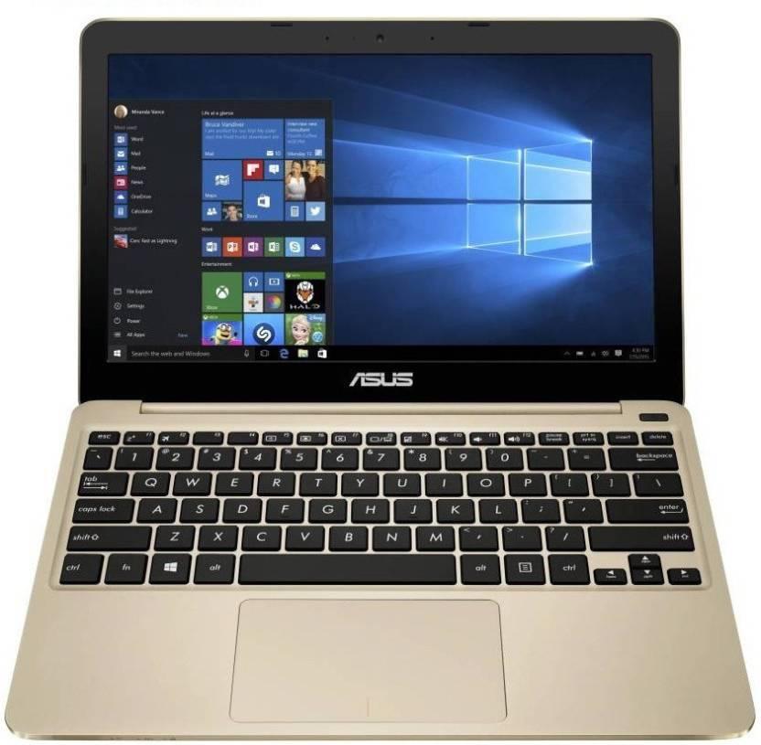 Asus EeeBook Atom - (2 GB/32 GB EMMC Storage/Windows 10 Home) E200HA-FD0006TS Netbook