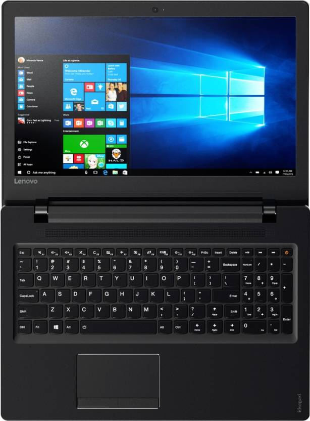 Lenovo Ideapad 110 APU Quad Core A6 6th Gen - (4 GB/500 GB HDD/Windows 10 Home) IP110 15ACL Laptop