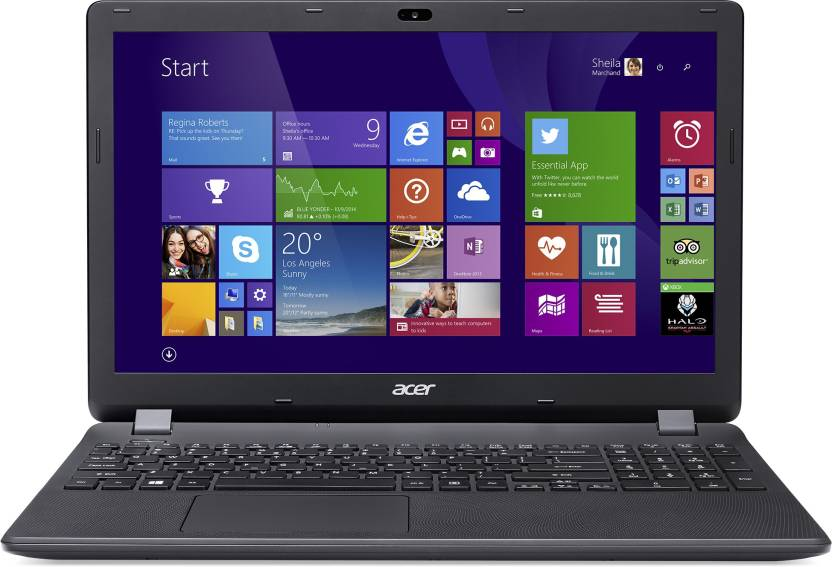 Acer E5 Core i5 4th Gen - (4 GB/1 TB HDD/Linux/128 MB Graphics) E5-573-587Q  Laptop