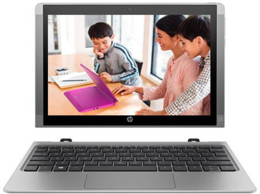 HP Atom - (2 GB/32 GB EMMC Storage/Windows 10 Home) T6T50PA x2 210 2 in 1 Laptop  (10.1 inch, SIlver, 1.139 kg)