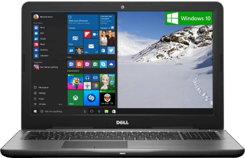 Flat 10,000 off On Dell Premium Laptops By Flipkart | Dell Inspiron 5000 Core i5 7th Gen - (8 GB/1 TB HDD/Windows 10 Home/4 GB Graphics) Z563503SIN9B 5567 Notebook  (15.6 inch, Black, 2.36 kg) @ Rs.63,990