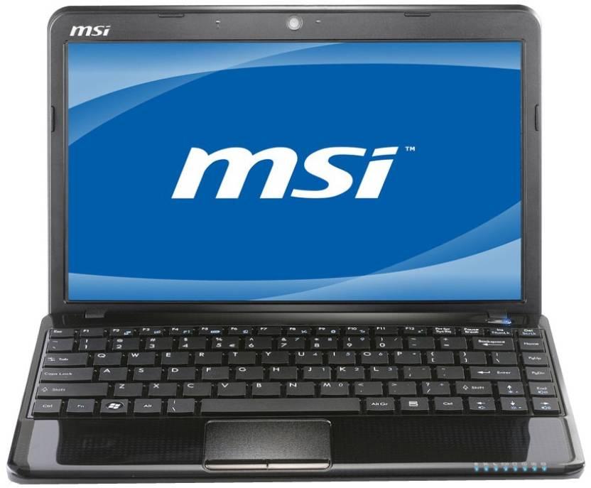 MSI U270 Netbook (APU Dual Core/ 2GB/ 320GB/ Win7 HB)