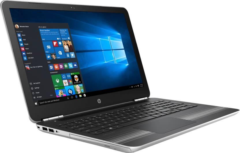 HP Core i5 7th Gen - (8 GB/1 TB HDD/Windows 10 Home/4 GB Graphics) 15-au114TX Laptop(15.6 inch, Natural SIlver, 2.03 kg)