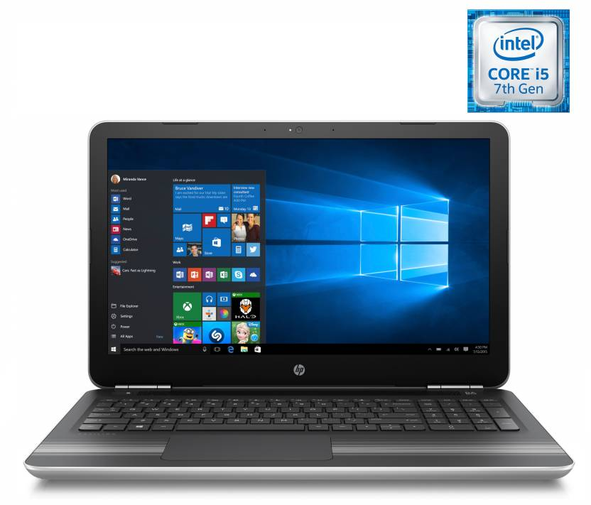 Flat 8,000 Exchange off On HP Pavilion Laptops By Flipkart | HP Core i5 7th Gen - (8 GB/1 TB HDD/Windows 10 Home/4 GB Graphics) Y4F77PA 15-au114TX Notebook  (15.6 inch, Natural SIlver, 2.03 kg) @ Rs.58,390