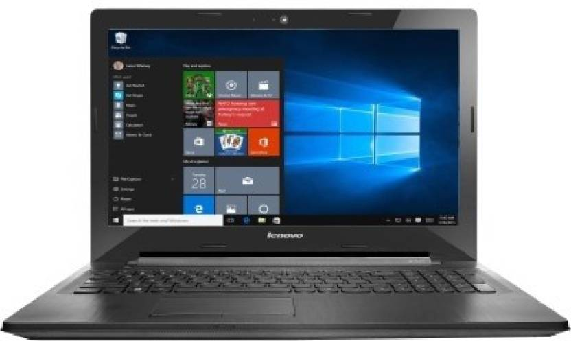 Lenovo G APU Quad Core A8 6th Gen - (4 GB/1 TB HDD/Windows 10 Home/2 GB Graphics) G50-45 Notebook