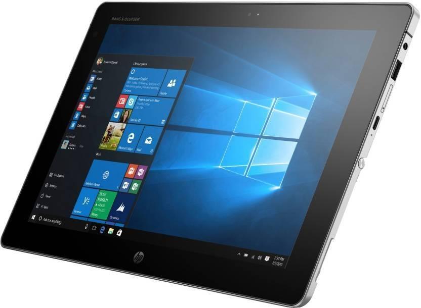 HP Core M 6th Gen    4   GB/128   GB SSD/Windows 10 Pro  X2 2 in 1 Laptop 12 inch, SIlver, 1.21 kg  HP Laptops