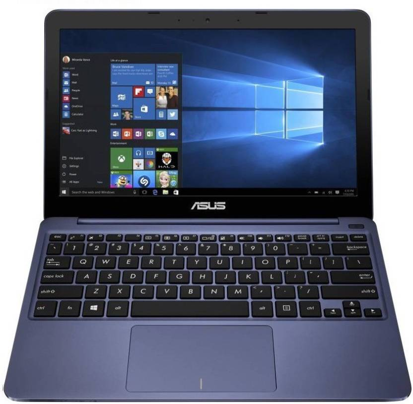 Asus EeeBook Atom Quad Core - (2 GB/32 GB EMMC Storage/Windows 10 Home) E200HA-FD0004TS Laptop
