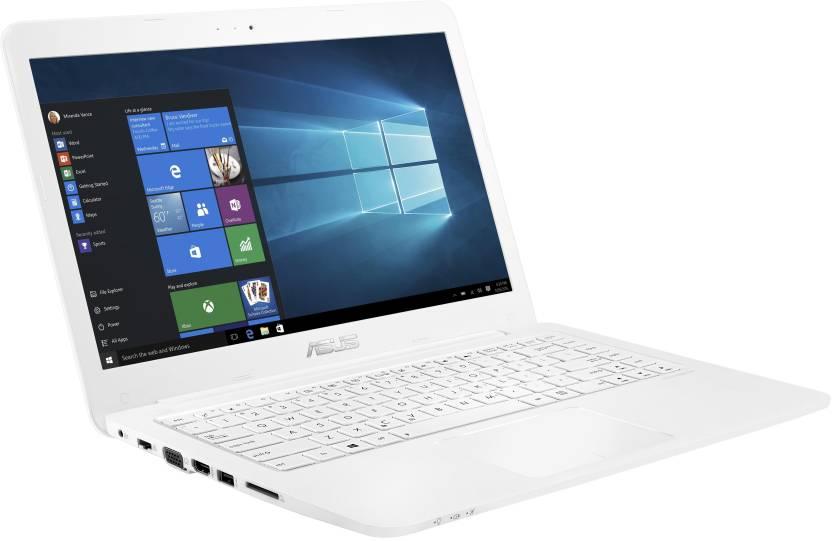 Asus EeeBook Celeron Dual Core - (2 GB/Windows 10 Home) E402SA-WX014T Laptop(14 inch, White, 1.65 kg)