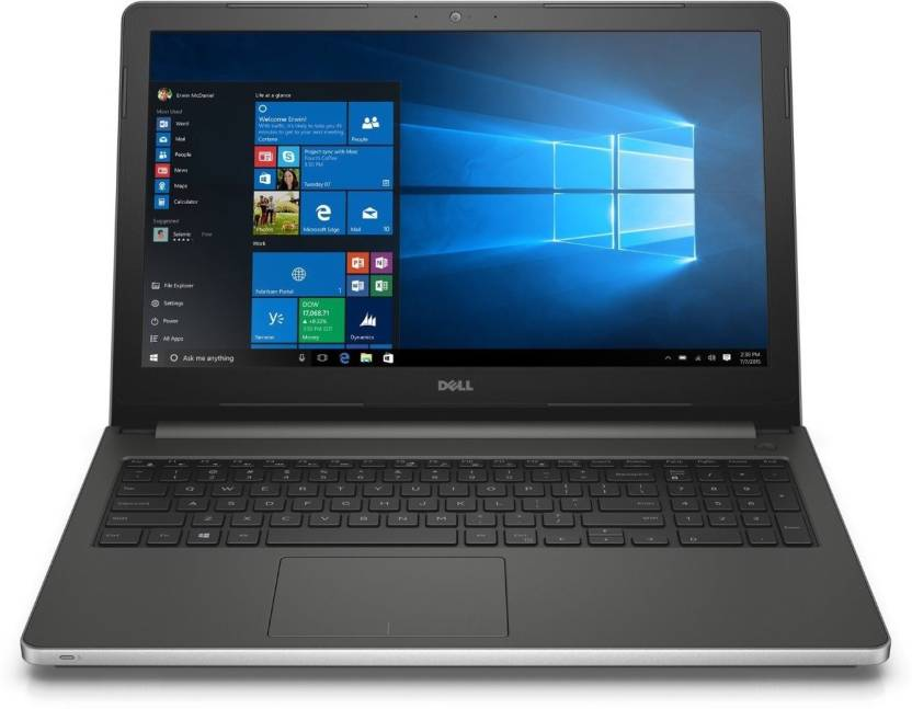 Upto Rs.15,000 Off On Exchange On Gaming Laptops By Flipkart | Dell Inspiron 5000 Core i5 6th Gen - (8 GB/1 TB HDD/Windows 10 Home/4 GB Graphics) Z566110SIN9SM 5559 Notebook  (15.6 inch, Silver, 2.4 kg) @ Rs.53,990