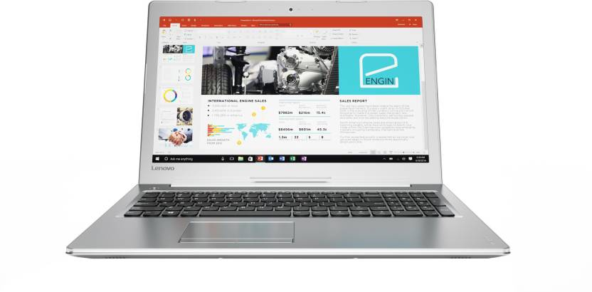 Minimum Rs.10,000 Off Exchange Off On Ideapad 500 Laptops By Flipkart |  Lenovo Core i5 7th Gen - (8 GB/1 TB HDD/Windows 10 Home/4 GB Graphics) 80SV001SIH 510 Notebook  (15.6 inch, Silver, 2.2 kg) @ Rs.56,990