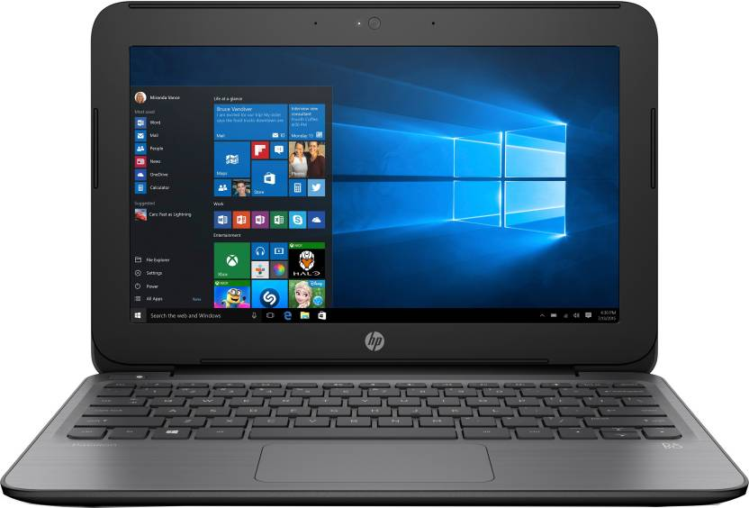 HP Pavilion Celeron Dual Core - (2 GB/500 GB HDD/Windows 10 Home) 11-S002TU Notebook