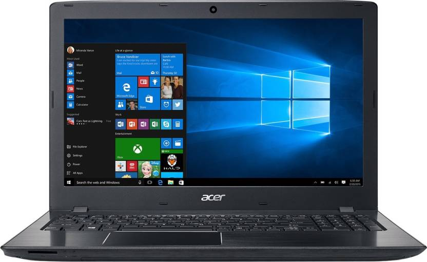 Acer Aspire E APU Quad Core A10 7th Gen - (4 GB/1 TB HDD/Windows 10) NX.GESSI.003 E5-553-T4PT Notebook