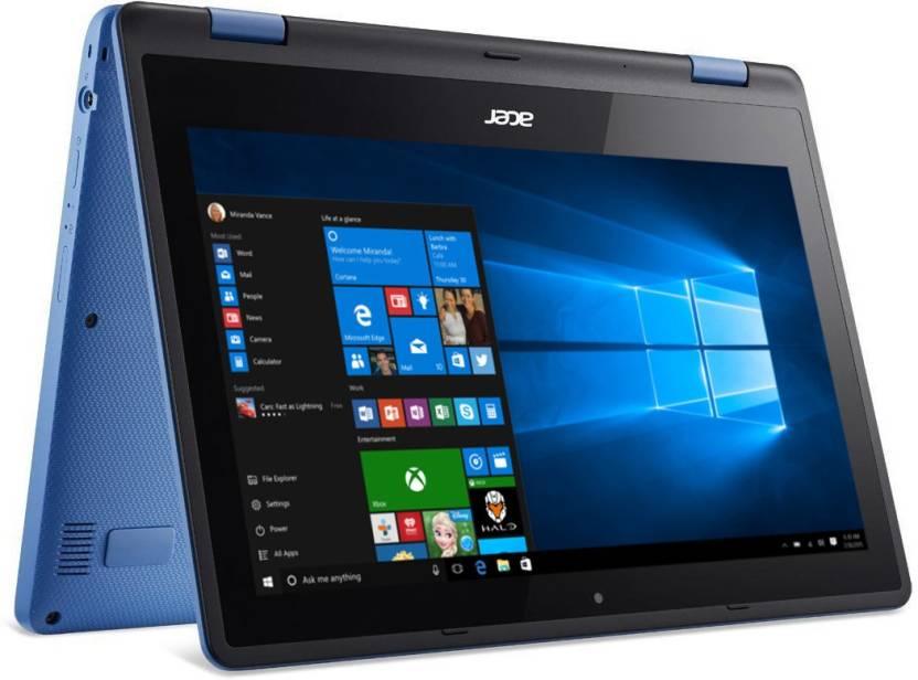 Acer Aspire R11 Pentium Quad Core - (4 GB/500 GB HDD/Windows 10 Home) NX.G0YSI.011 R3-131T-P9J9/r3-131t-p71c 2 in 1 Laptop