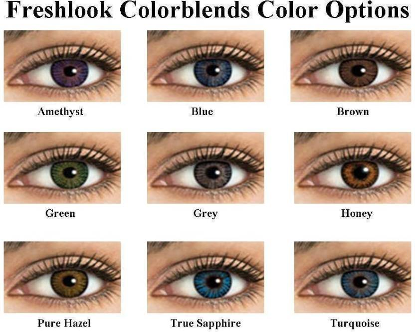 98ab979ce5c Freshlook Colorblends Monthly Contact Lens Price in India - Buy ...