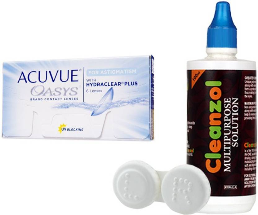 Johnson   Johnson Acuvue Oasys with Hydraclear Plus with LensCareKit By  Visionsindia Monthly Contact Lens 655e5af21c