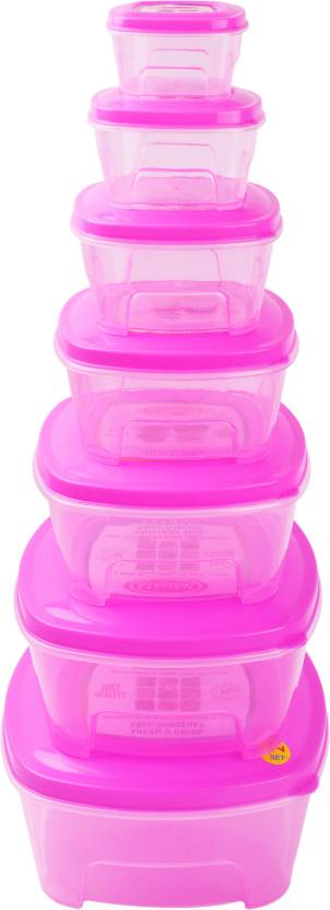NP Good Day Set (Big) (Pink) Plastic Multi-purpose Storage Container