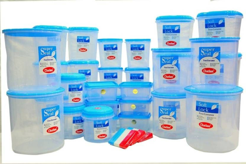 Chetan 51 Pc Multipurpose Plastic Kitchen Storage Container Set With