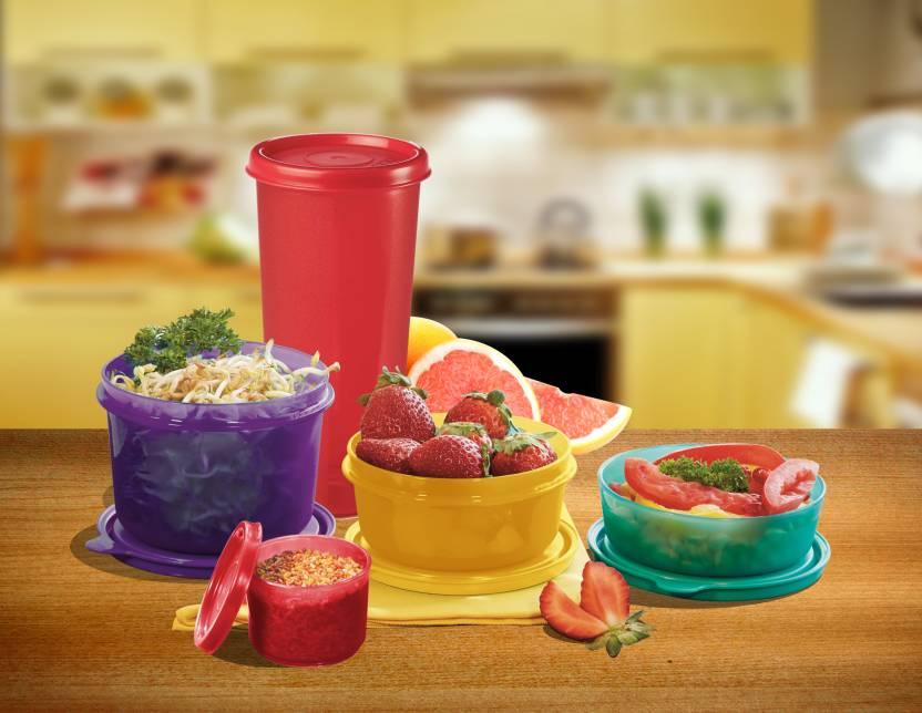Polyset Food Saver Combi  - 100 ml, 170 ml, 300 ml, 350 ml, 450 ml Plastic Food Storage