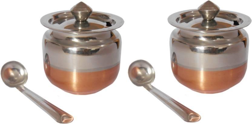 ec1f0ca5472 Shubham Ghee   Oil Pot - 200 ml Steel