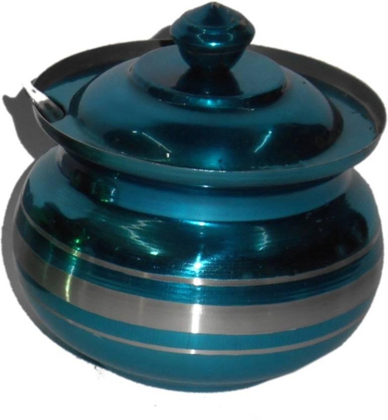 Infinxt Ghee Oil Pot 200 ml Steel Multi purpose Storage