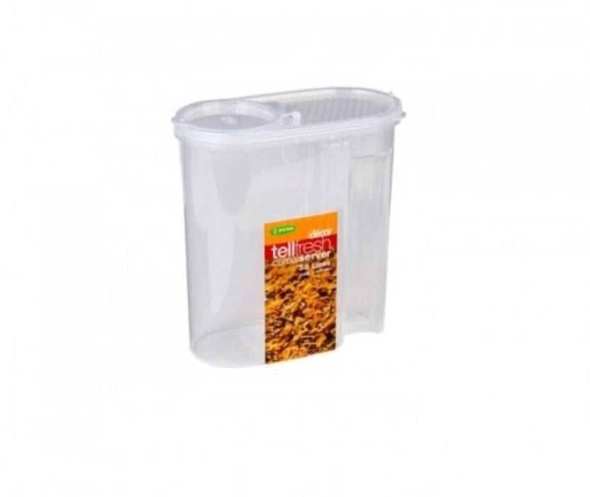 Decor Tellfresh Cereal Server 3000 Ml Plastic Grocery Container