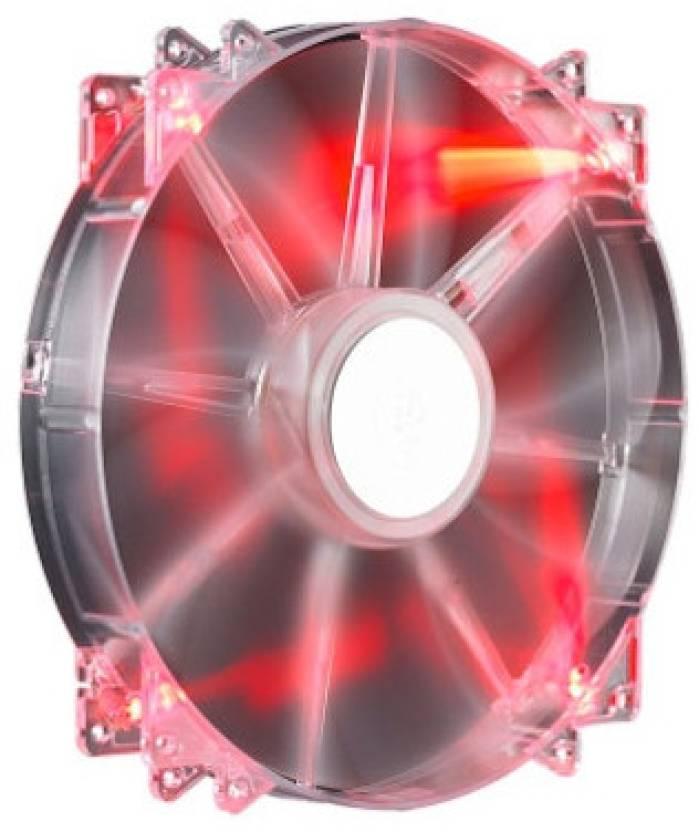 Cooler Master Megaflow 200 RED LED Silent Fan Cooler