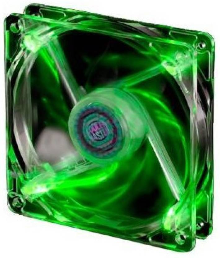 Cooler Master 80 mm Green LED Fan Cooler