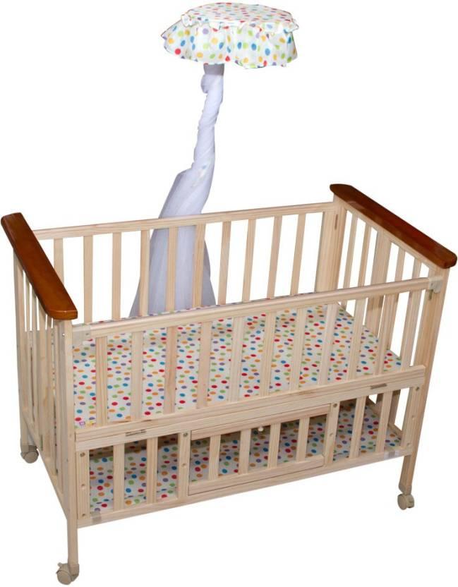 Mee Mee Baby Wooden Cot Buy Baby Cot Buy Babycare