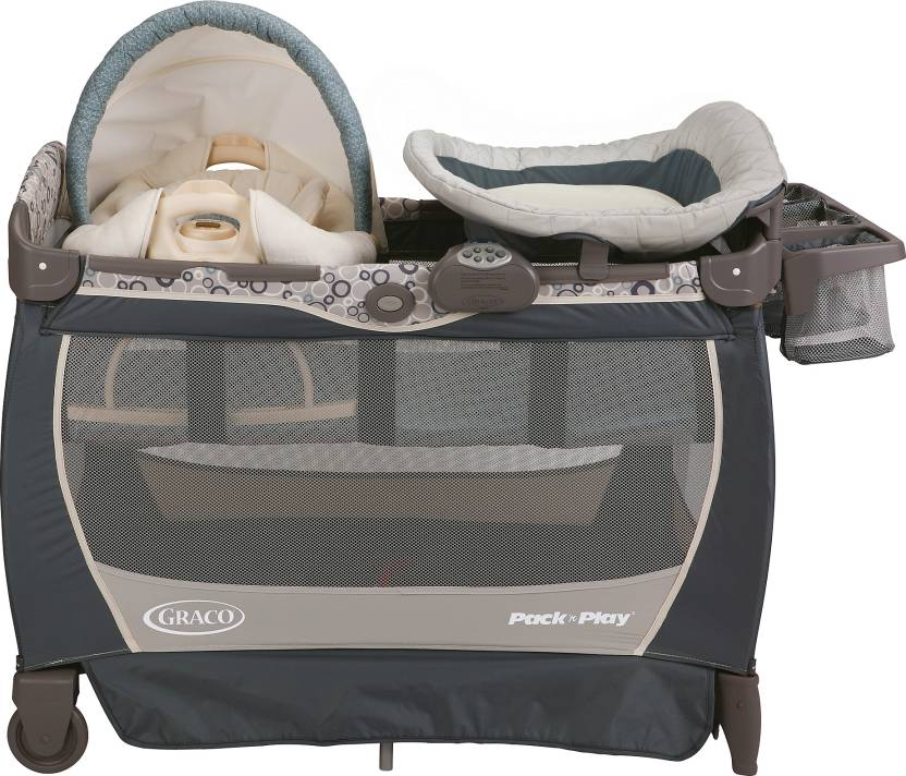 6bf8f79af5b Graco Pack  n Play Playard with Cuddle Cove Lx Rocking Seat - Brompton Cot  (Multicolor)