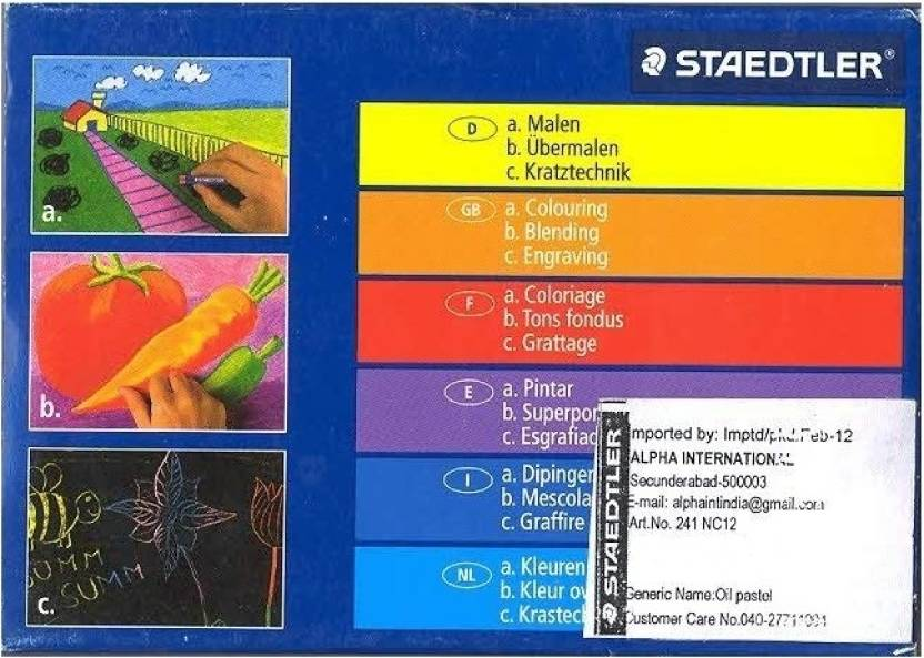 Staedtler Round Shaped Crayon