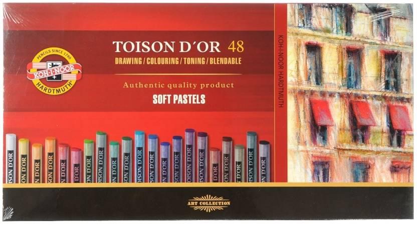 Koh-I-Noor Hardtmuth Toison D'Or Dry Pastel Crayon