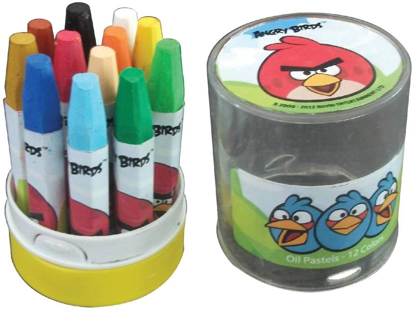 Angry Birds Crayon