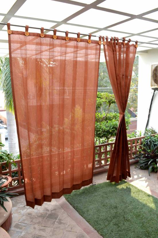 Hippo 2286 Cm 8 Ft Net Door Curtain Pack Of 2