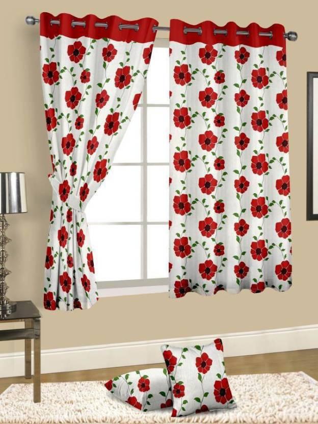 Cortina Cotton Window Curtain 150 Cm 4 Ft Single