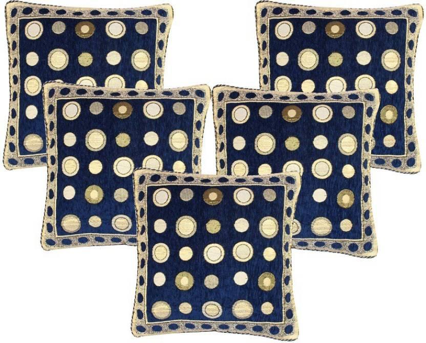 The Intellect Bazaar Geometric Cushions Cover
