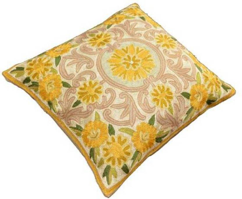 Amazing Hind Embroidered Cushions Cover