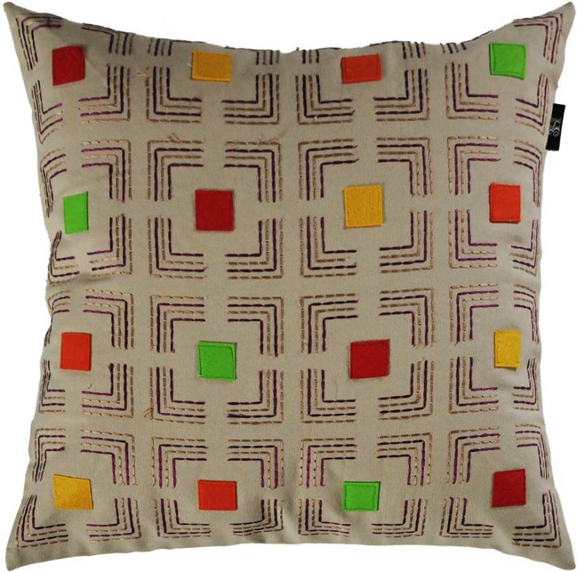 The Home Elements Geometric Cushions Cover