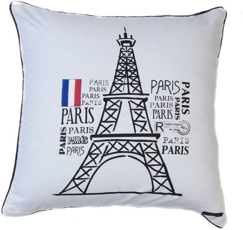 De Home Embroidered Cushions Cover