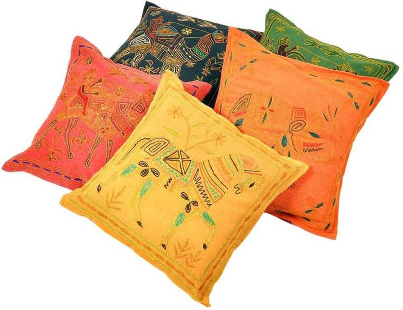 Shree Sai Embroidered Cushions Cover